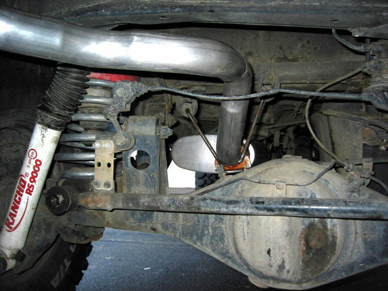 exhaust sytems on toyota 4x4s