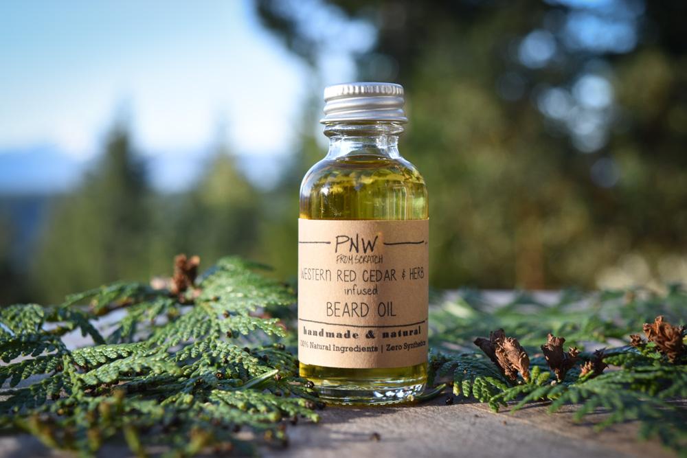 PNW Herbal Infused Beard Oil