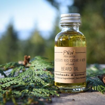 Western Red Cedar and Herb Beard Oil