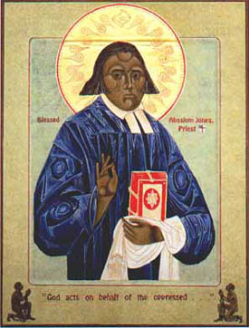first black episcopal priest in the USA