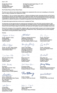 Bishop Grant J. Hagiya was among a number of religious leaders who signed on to a letter to President Barack Obama.