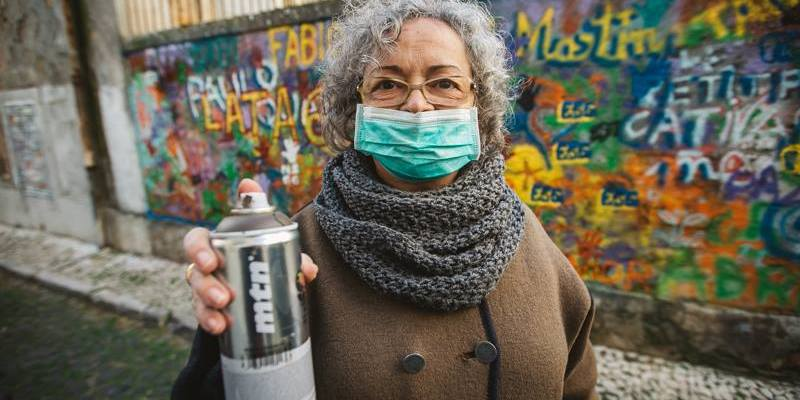 Steps for Sustainability: First, get some spraypaint