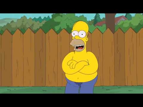 Homer Simpsons fa el Ice-Bucket Challenge