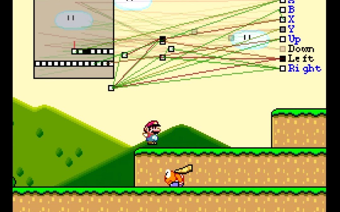 Intel·ligència artificial jugant a Super Mario World