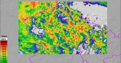 Místy napršelo i 70mm srážek, místy zůstalo sucho