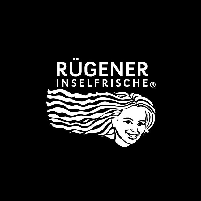 Logo Signetgestaltung Corporate Design Rügener Inselfrische von Pocha Burwitz