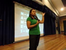 Voice Care Executive Director Ada Cuaresma