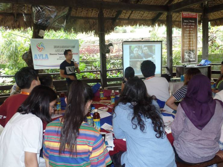 The VoiceMaster Talks about Personal Branding on AYLA 3rd Advocacy Camp