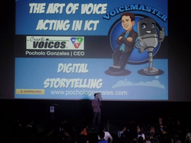 VoiceMaster Talks about Digital Storytelling in BITS Synergy Seminar