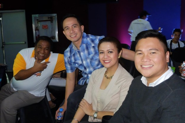 The VoiceMaster with the other Speakers and STI Events Manager Mhel Garrido