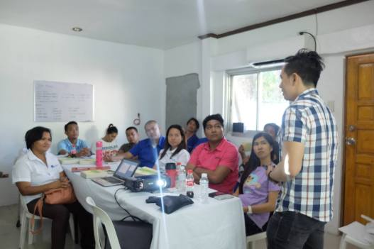 The VoiceMaster Conducts Management Workshop for Mikolas Trading Corporation