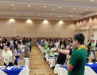 filipino motivational speaker talks about passion driven business