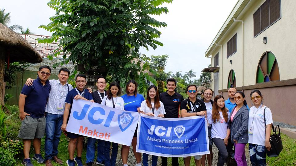 JCI Makati and JCI Princess Urduja farm tour