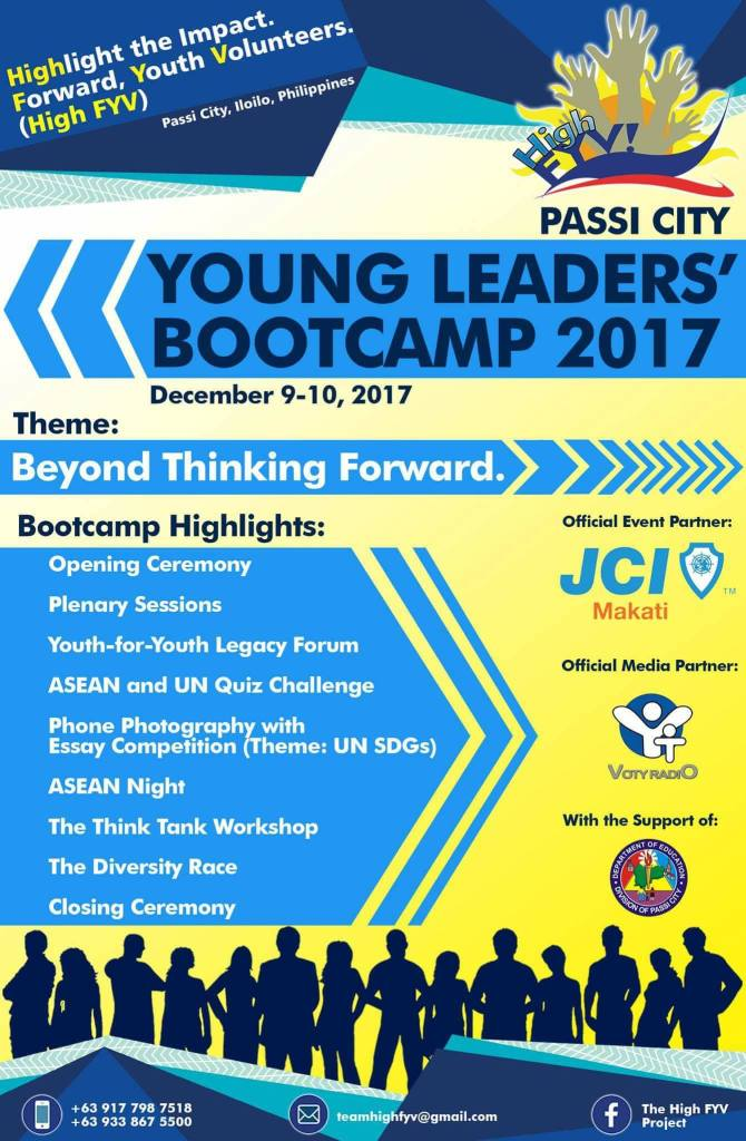 Passi City Young Leader's Bootcamp 2017