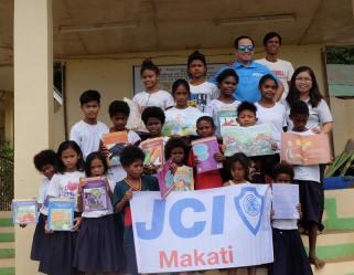 JCI Makati 2018 President Pocholo Gonzales visits Biaan Aeta Integrated School in Mariveles Bataan