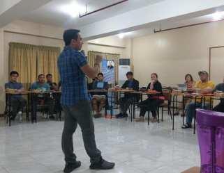 Filipino motivational inspires retreat facilitators