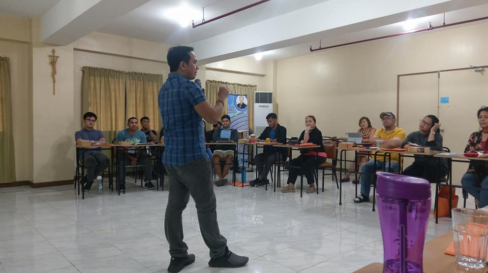 Filipino motivational inspires retreat facilitators