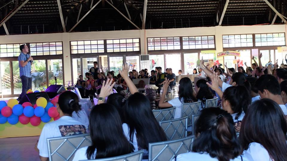 The VoiceMaster Speaks at the Cabuyao Youth Congress
