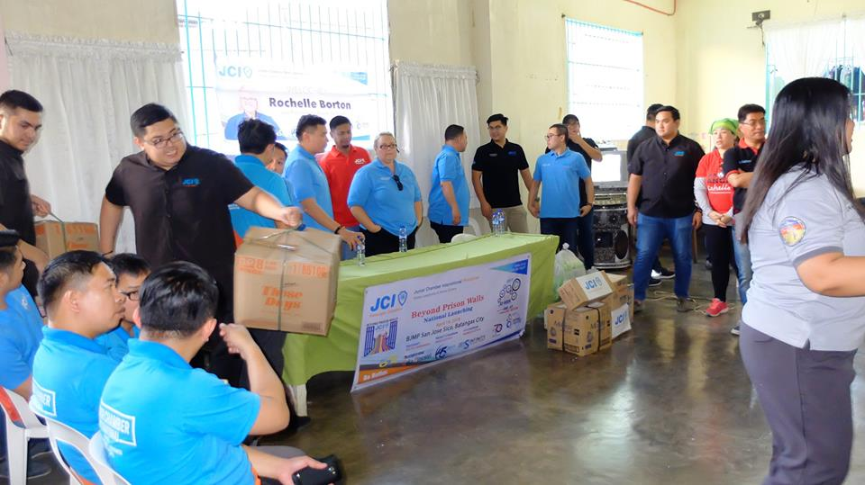 JCIP donated sanitary items to female inmates of Batangas City Jail