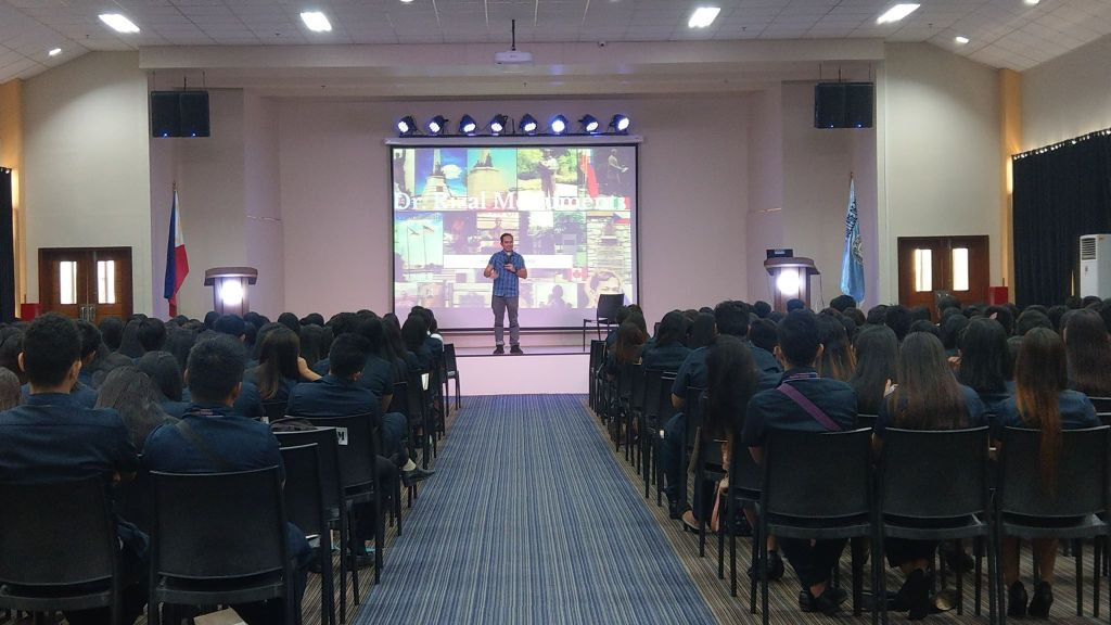 The VoiceMaster conducts whole-day soft skills seminar at Assumption College of Davao