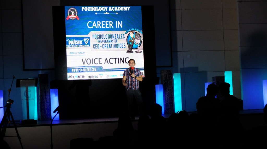 The VoiceMaster shares the art of voice acting to Mass Comm and IT students