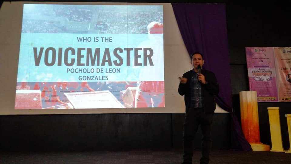 The VoiceMaster shares his journey to make a name in the voice acting industry