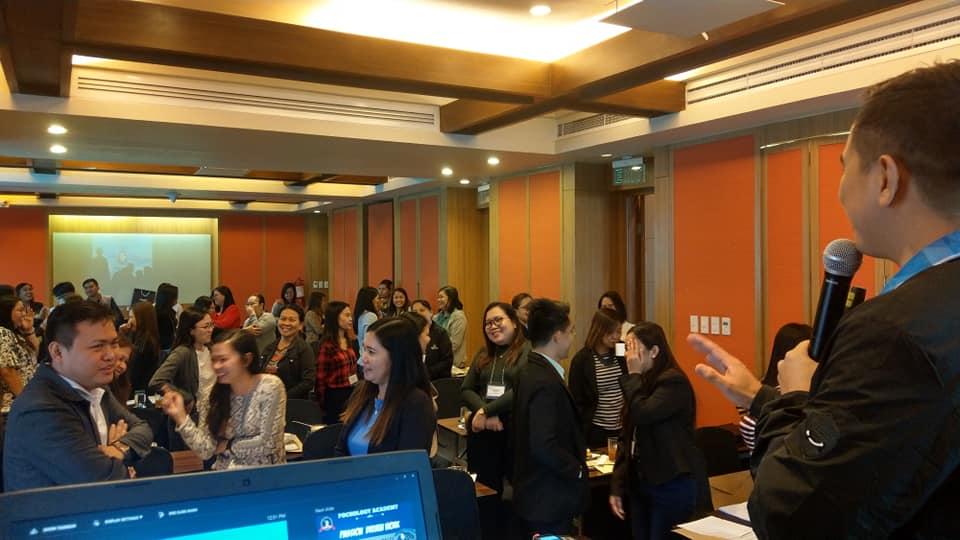 The VoiceMaster speaks at Punongbayan and Araullo seminar
