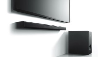 Yamaha MusicCast Bar 400 soundbar review studio image 2