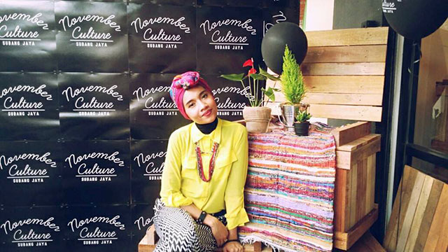 Yuna at her store in Subang Jaya. Photo credit: November Culture