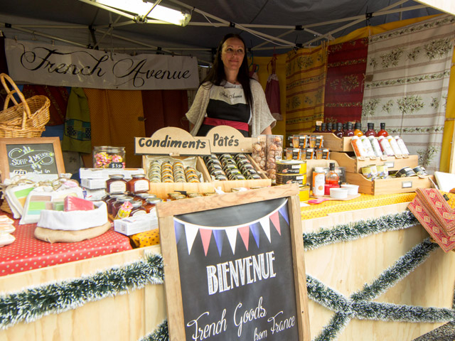 French goodies for sale. Photo credit: Ian Lee