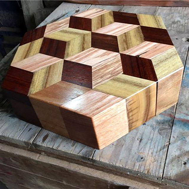 This chopping block is too pretty. Photo credit: Bearth Again