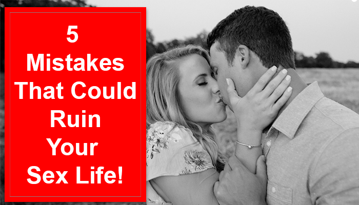 Mistakes of sex life