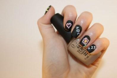 Peek-a-Boo Nail Art