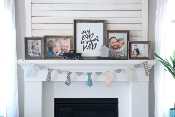 Father's Day Craft by Pocketful of Paint and The Wood Connection