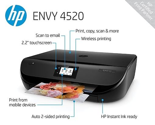HP Envy 4520 Features