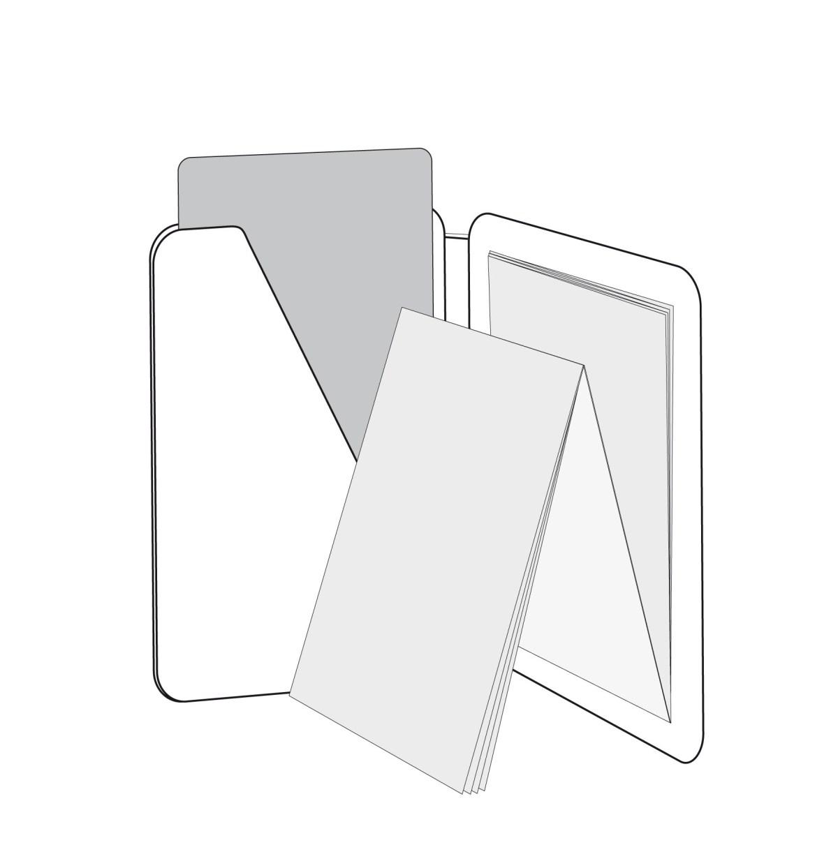 PocketPlaner mit Einstecklasche