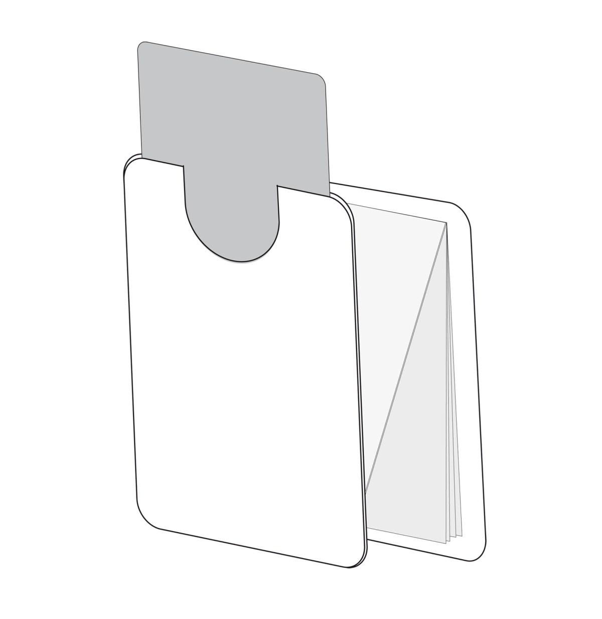 z-card mit Einstecktasche