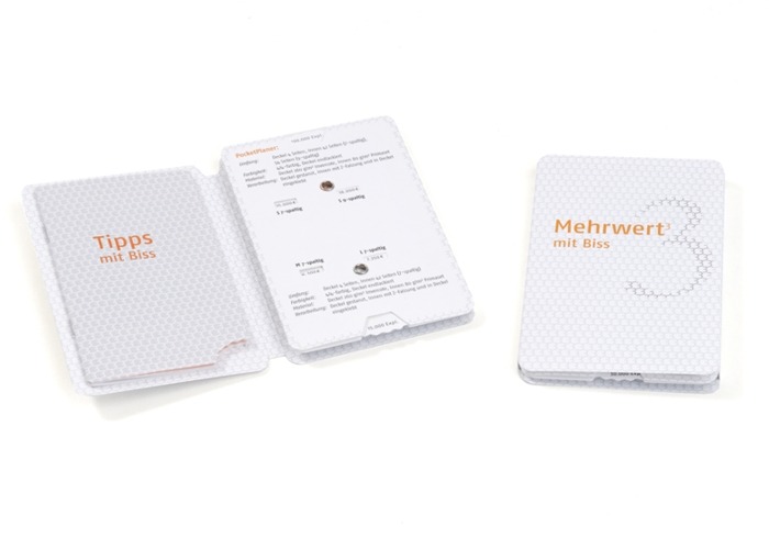 PocketPlaner mit integrierter Drehscheibe
