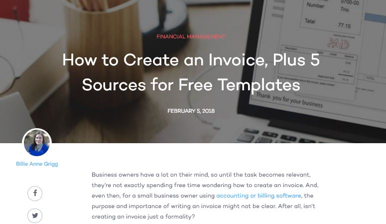 How to Create and Invoice  Plus 5 Sources for Free Templates     How to Create and Invoice  Plus 5 Sources for Free Templates