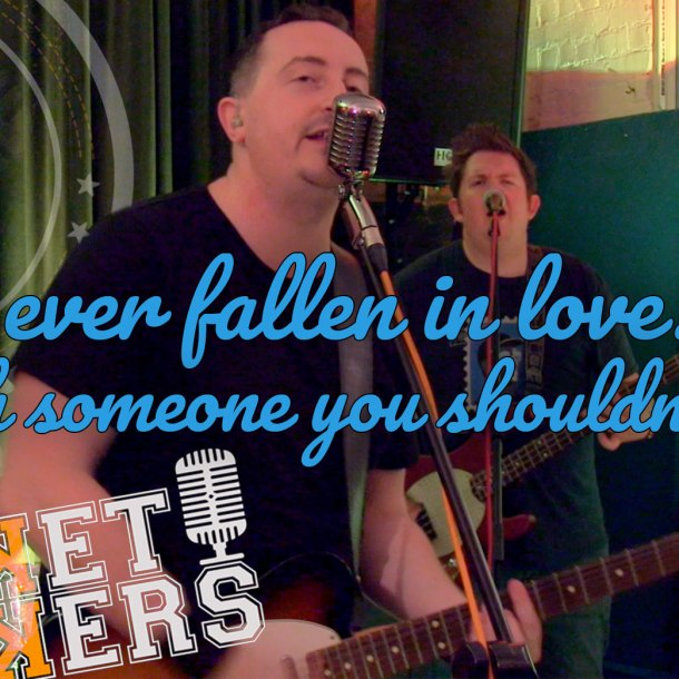Thumbnail for the music video Ever Fallen In Love performed by The Pocket Rockers