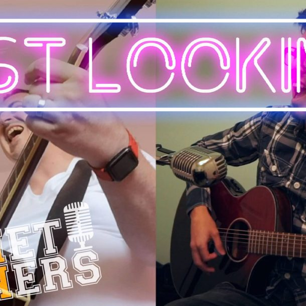 Thumbnail for the music video Just Looking performed Acoustically by The Pocket Rockers