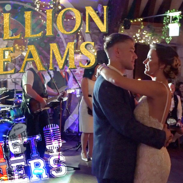 Thumbnail for the live music video A Million Dreams performed by Hampshire Wedding Band The Pocket Rockers