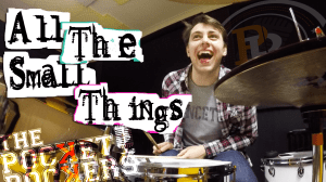 Thumbnail for the music video All The Small Things performed by The Pocket Rockers