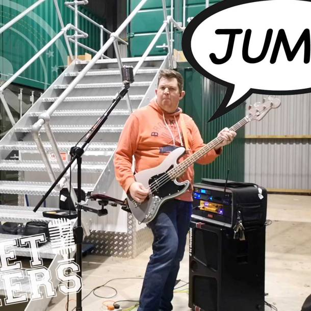 Thumbnail for the music video Jump performed by The Pocket Rockers