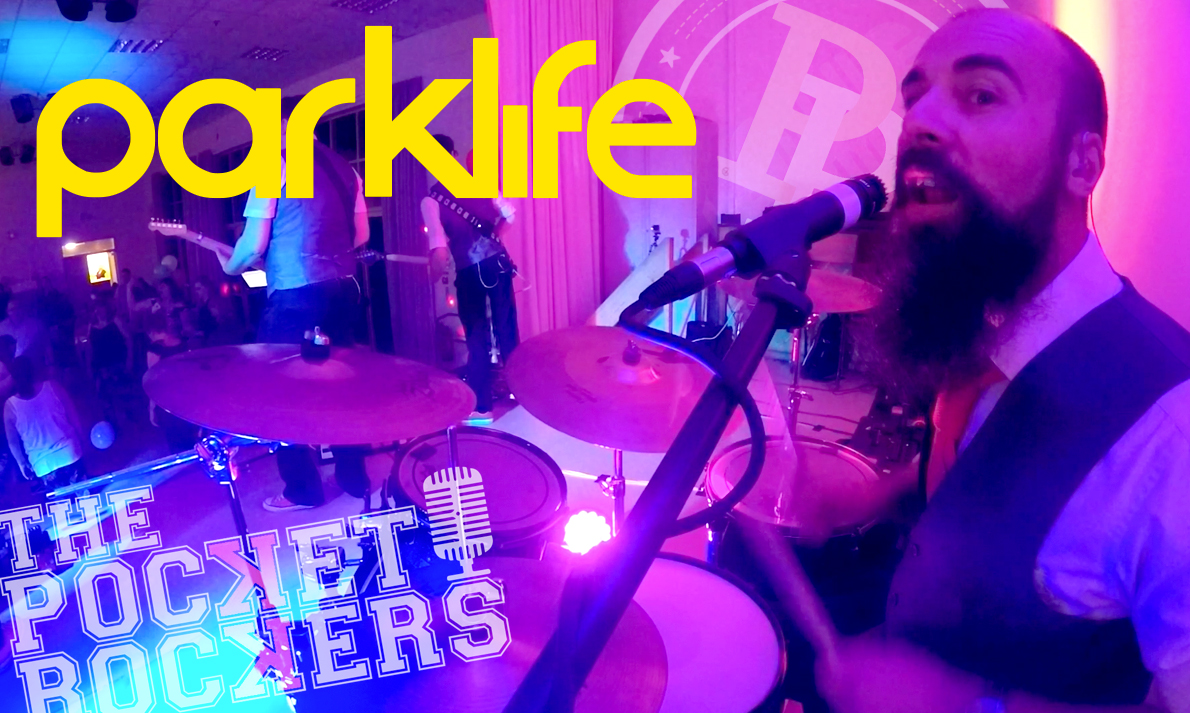 Thumbnail for the live music video Parklife performed by The Pocket Rockers