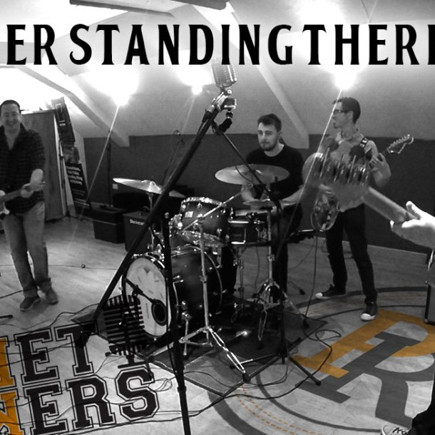 Thumbnail for the music video I Saw Her Standing There performed by The Pocket Rockers