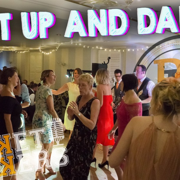 Thumbnail for the live music video Shut Up & Dance performed by Hampshire Wedding Band The Pocket Rockers