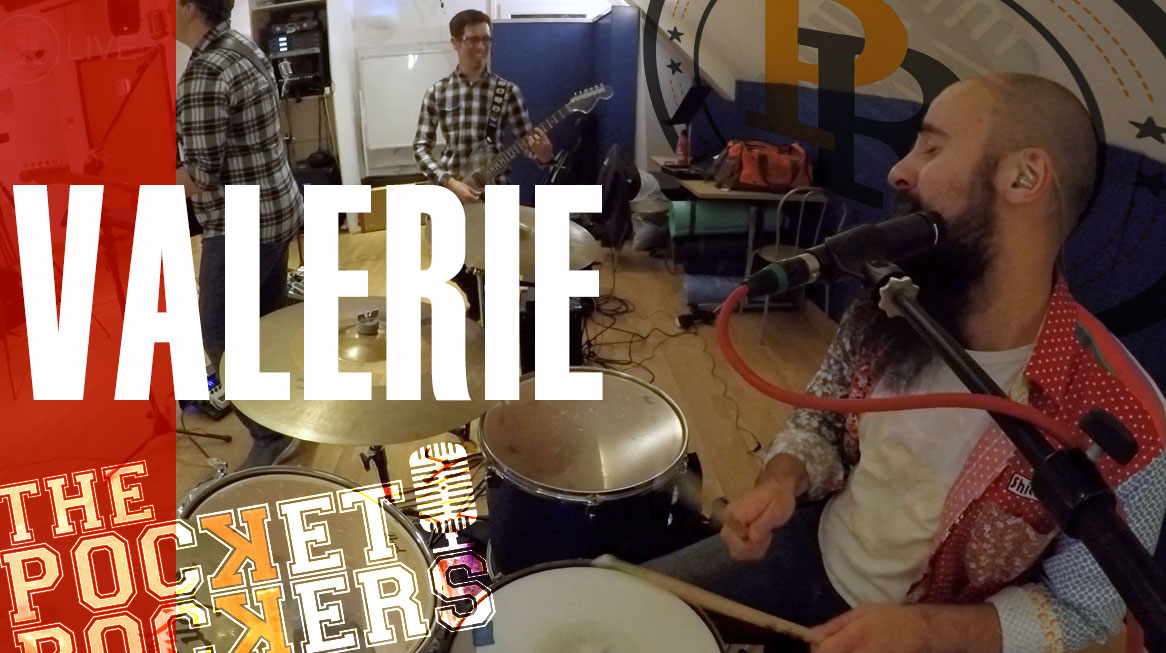 Thumbnail for the music video Valerie performed by The Pocket Rockers