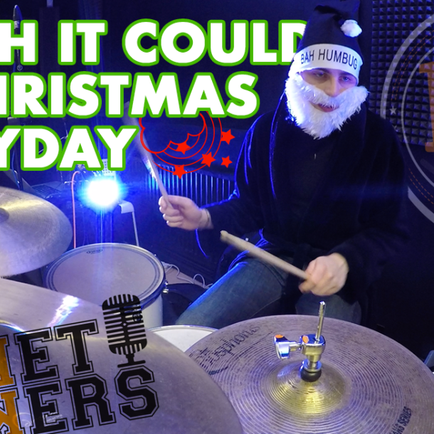 Thumbnail for the music video YI Wish It Could Be Christmas Everyday performed by The Pocket Rockers