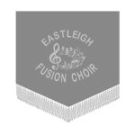 Logo for Eastleigh Fusion Choir - a Client that has booked The Pocket Rockers.